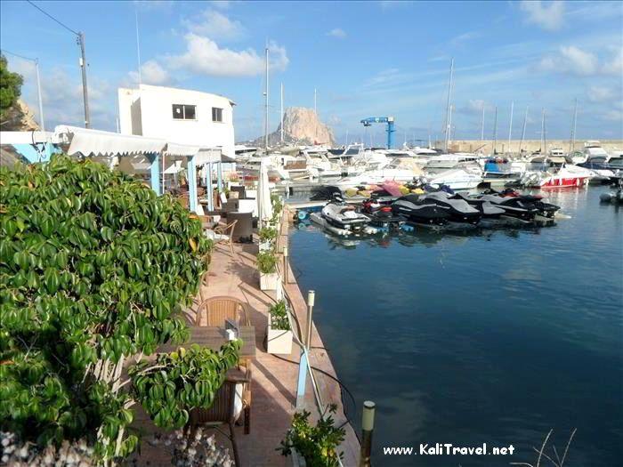 Calpe arena sol mar e historia kali travel - Restaurante puerto blanco calpe ...
