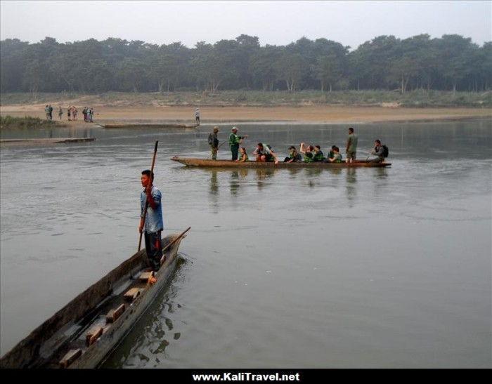 chitwan-national-park-canoe-ride-nepal