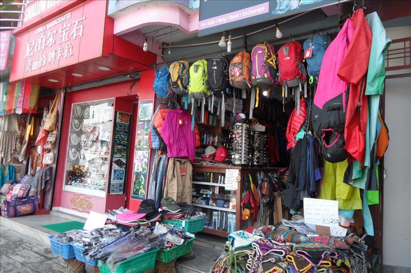 pokhara-store-selling-hiking-gear-nepal